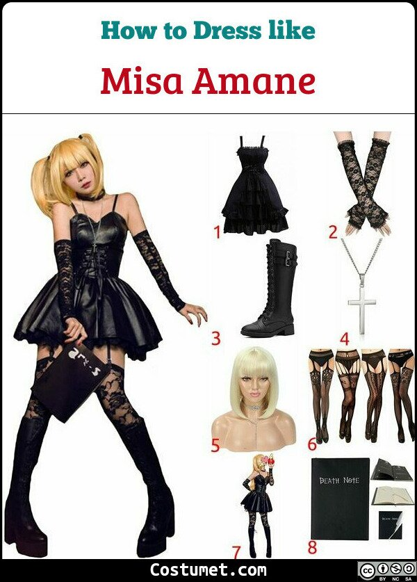 Misa Amane Costume for Cosplay & Halloween