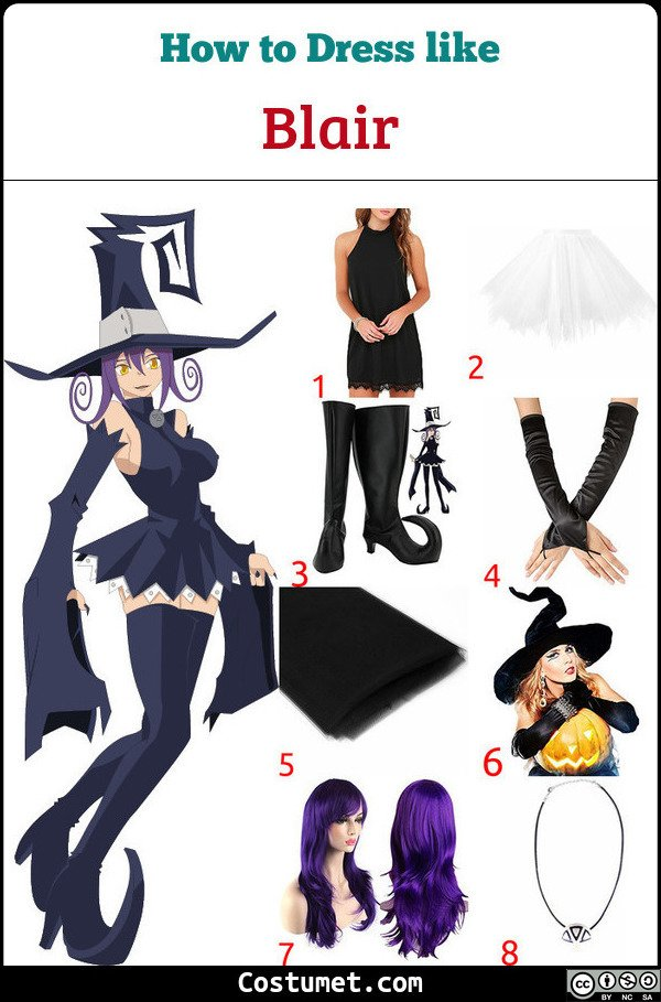 Blair Costume for Cosplay & Halloween
