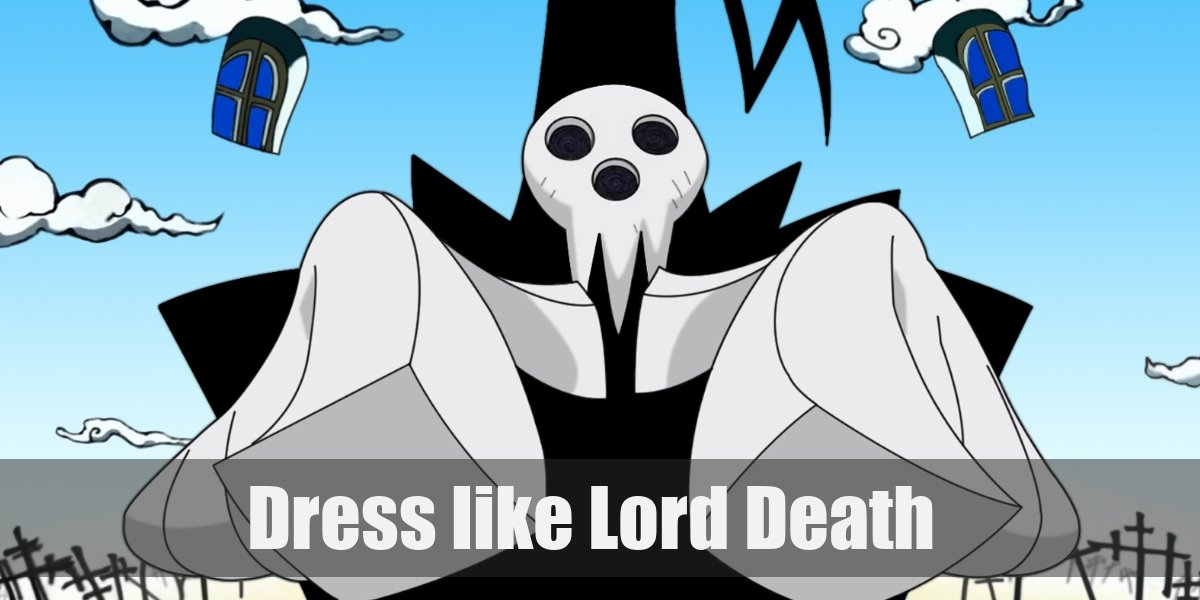 Dress Like Lord Death Costume For Cosplay Halloween