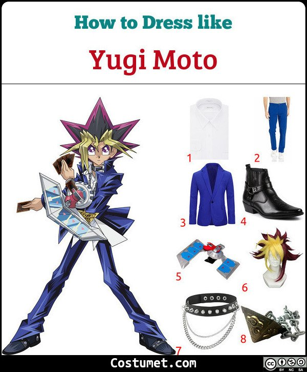 Yu Gi Oh Costume for Cosplay & Halloween