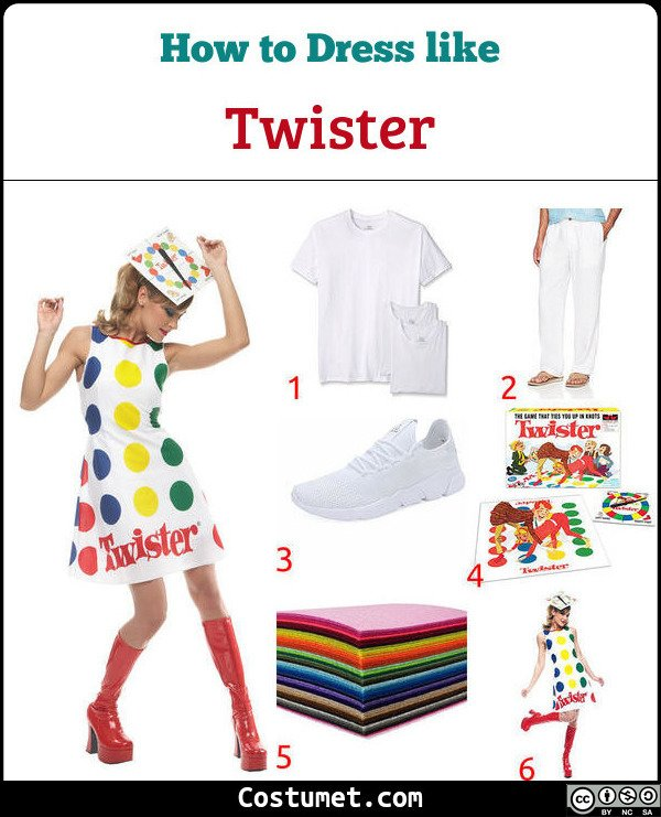 Twister Costume for Cosplay & Halloween