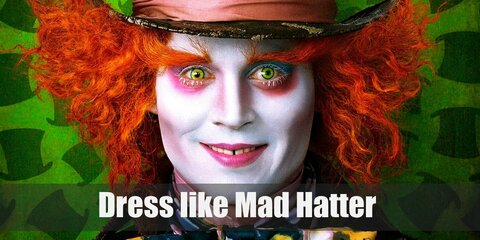 The Mad Hatter has a very ridiculous and eccentric type of personality, which also translates to his way of dressing and his choice of clothing.
