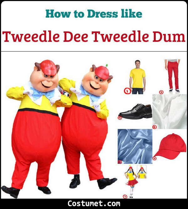 Tweedle Dee Tweedle Dum Cosplay & Costume Guide