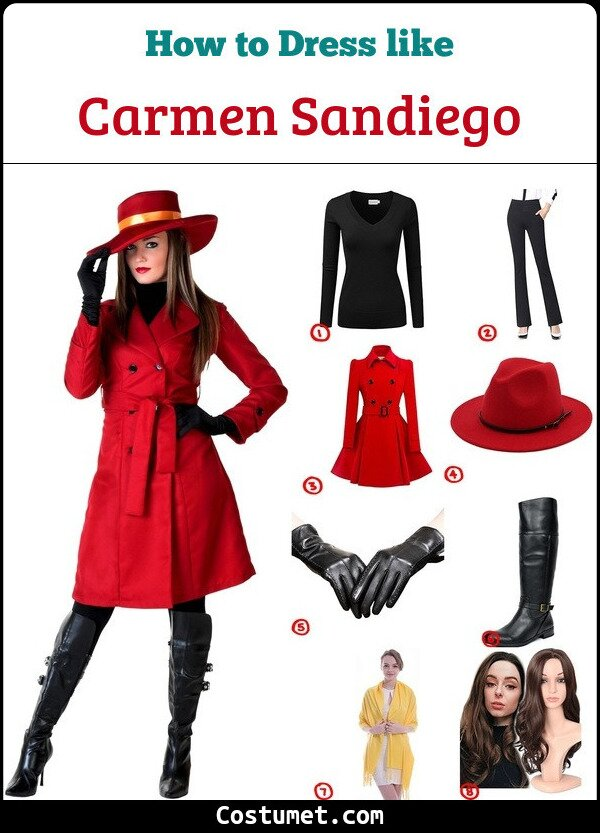 Carmen Sandiego Cosplay & Costume Guide