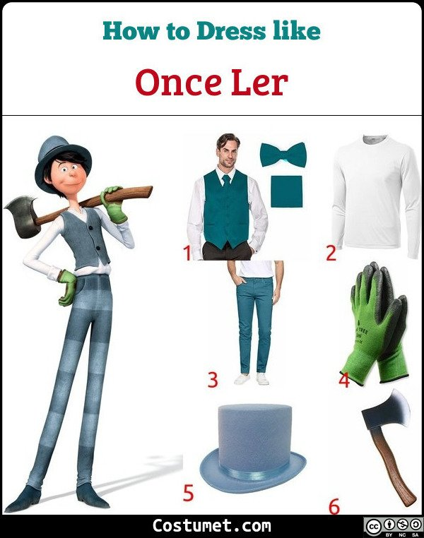 Once Ler Costume for Cosplay & Halloween
