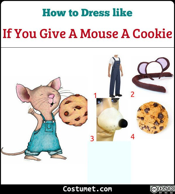 If You Give A Mouse A Cookie Costume for Cosplay & Halloween