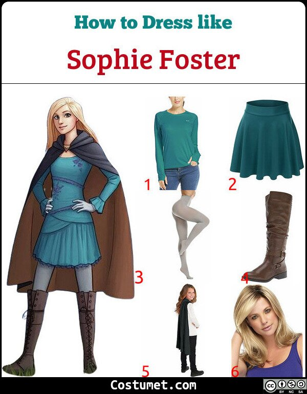 Sophie Foster Costume for Cosplay & Halloween