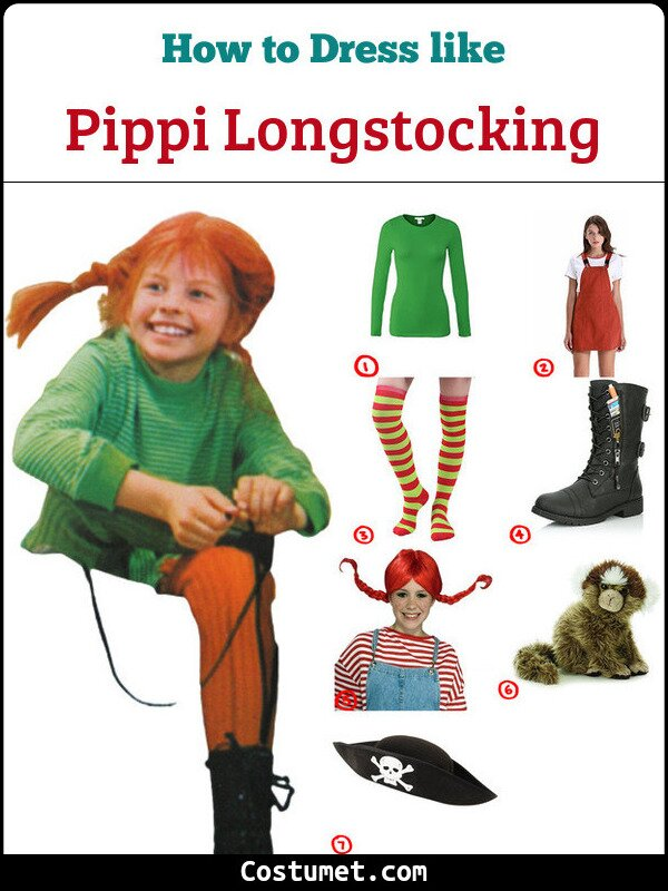 Pippi Longstocking Cosplay & Costume Guide