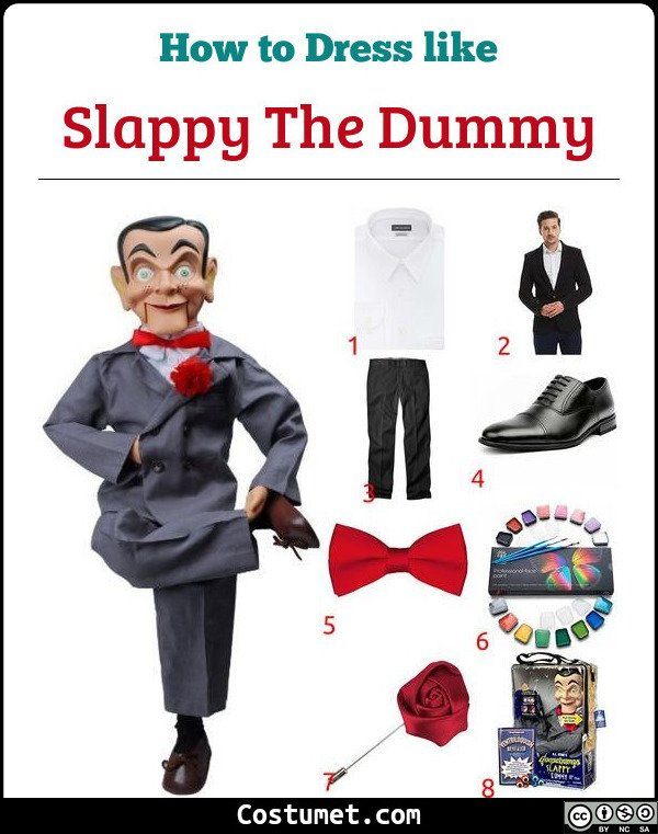 Slappy The Dummy Costume for Cosplay & Halloween