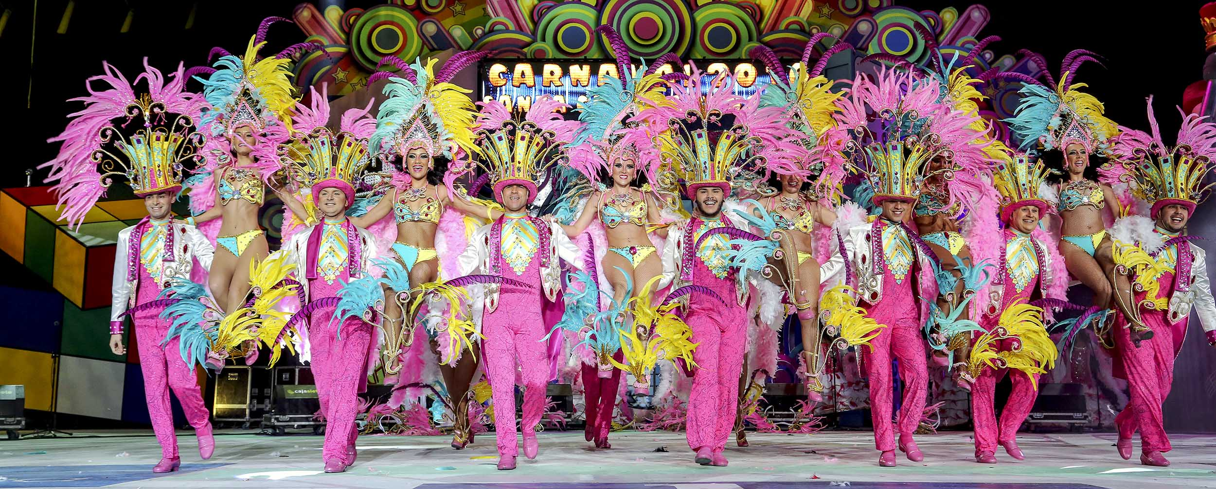 Tenerife carnival stage