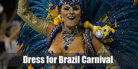 It's the biggest party on the side of Rio! Wear feathered wings and brightly colored outfits to your heart's desire!
