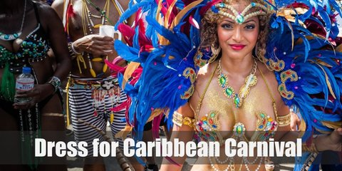The Caribbean Carnival isn't just held once in once place! It's celebrated in a lot of locations by the people of the Caribbean Islands. Join the fun and laughter while wearing bedazzling attires!
