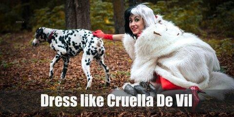 Cruella De Vil (101 Dalmatians) Costume