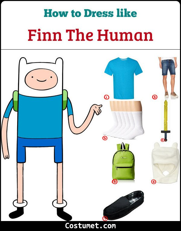 Finn the human cosplay & costume guide