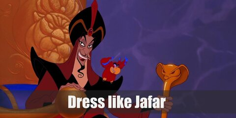 """Jafar's style can definitely be described as ""evil villain"", but with a very Middle-Eastern take."""