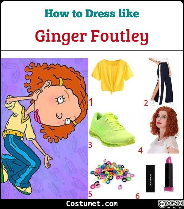As Told By Ginger Costume for Cosplay & Halloween