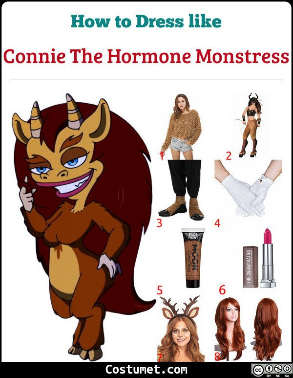 Connie The Hormone Monstress Costume for Cosplay & Halloween