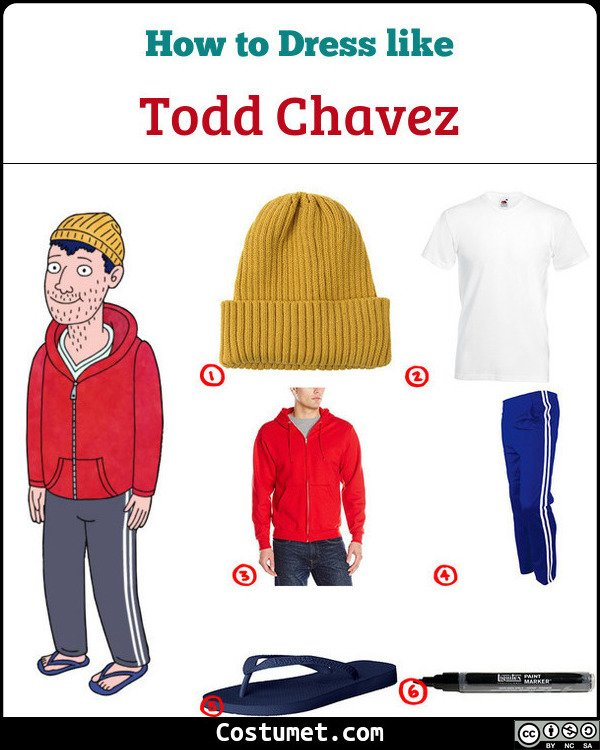 Todd Chavez Costume for Cosplay & Halloween