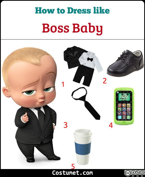 Boss Baby Costume for Cosplay & Halloween