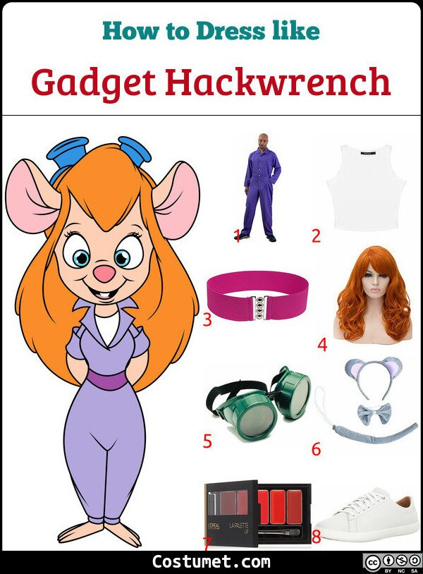 Gadget Hackwrench Costume for Cosplay & Halloween