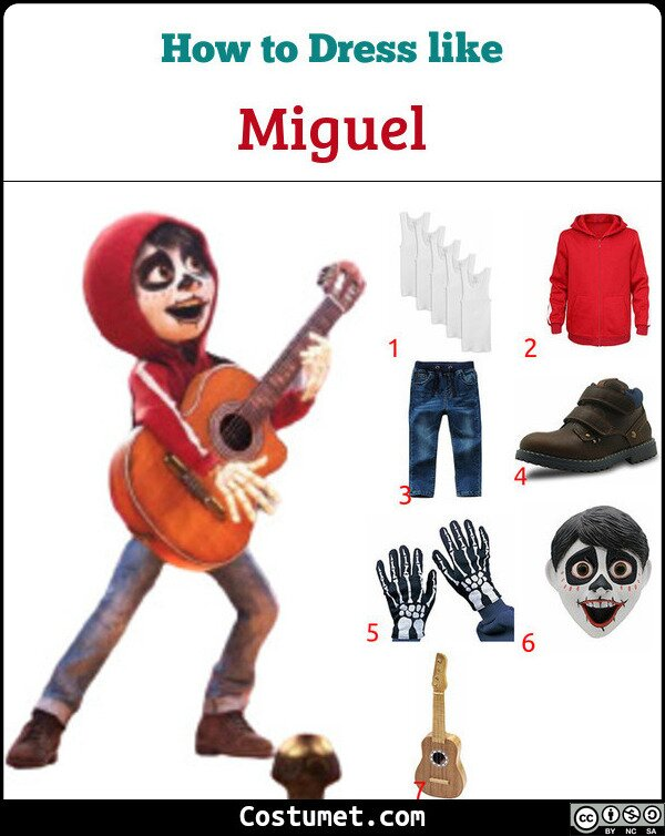 Miguel Costume for Cosplay & Halloween
