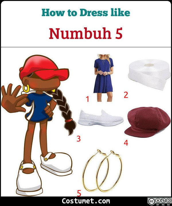 Numbuh 5 Costume for Cosplay & Halloween