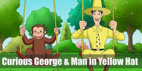 Dress Like Curious George and The Man in the Yellow Hat Costume