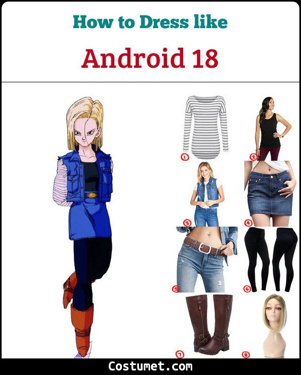 Android 18 Cosplay & Costume Guide