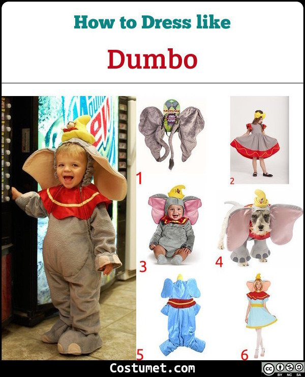 Dumbo Costume for Cosplay & Halloween