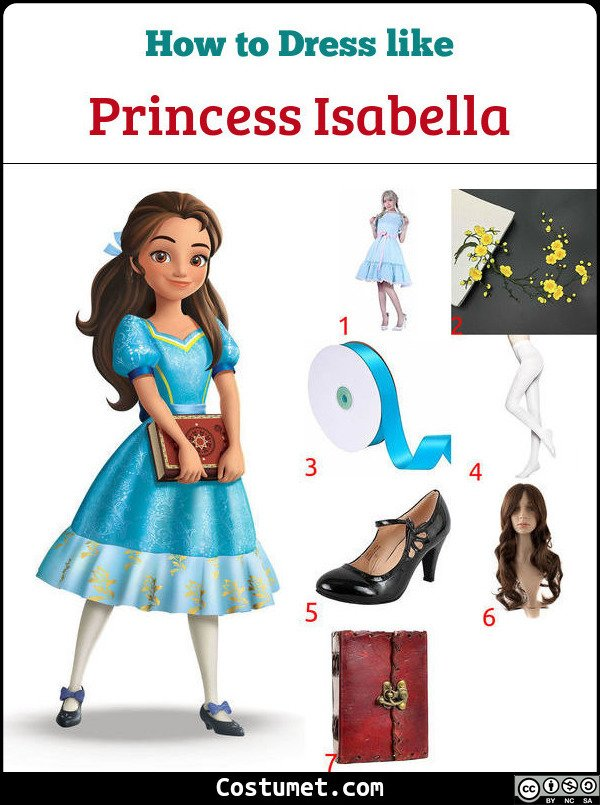 Princess Isabella Costume for Cosplay & Halloween