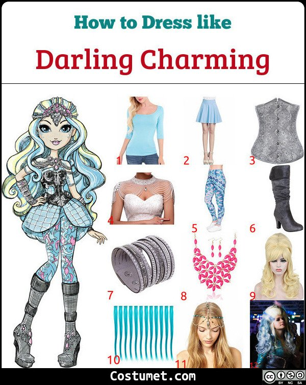 Darling Charming Costume for Cosplay & Halloween