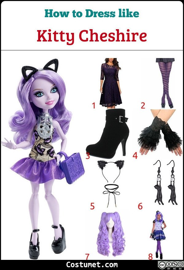 Kitty Cheshire Costume for Cosplay & Halloween