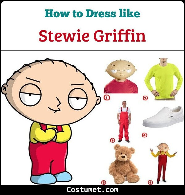 Stewie Griffin Cosplay & Costume Guide