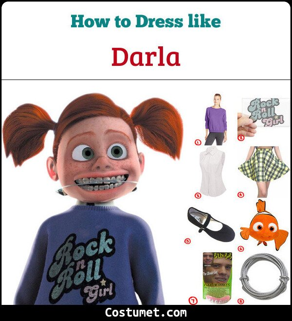 Darla Costume for Cosplay & Halloween