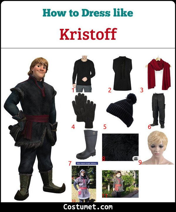 Kristoff Costume for Cosplay & Halloween