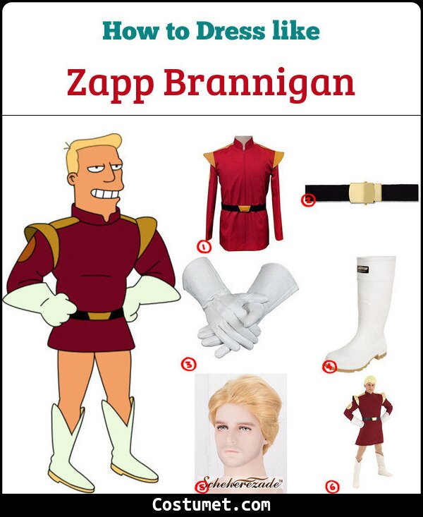Zapp Brannigan Cosplay & Costume Guide
