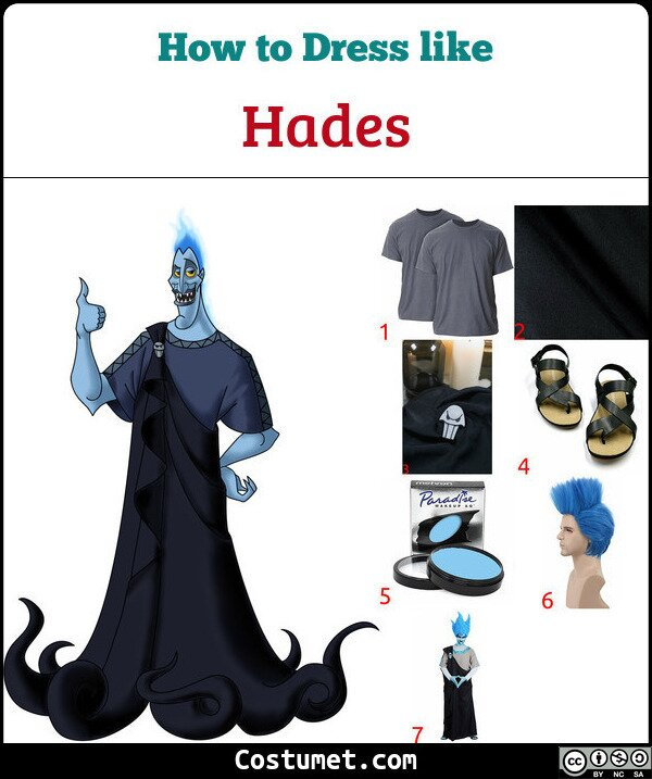 Hades Costume for Cosplay & Halloween