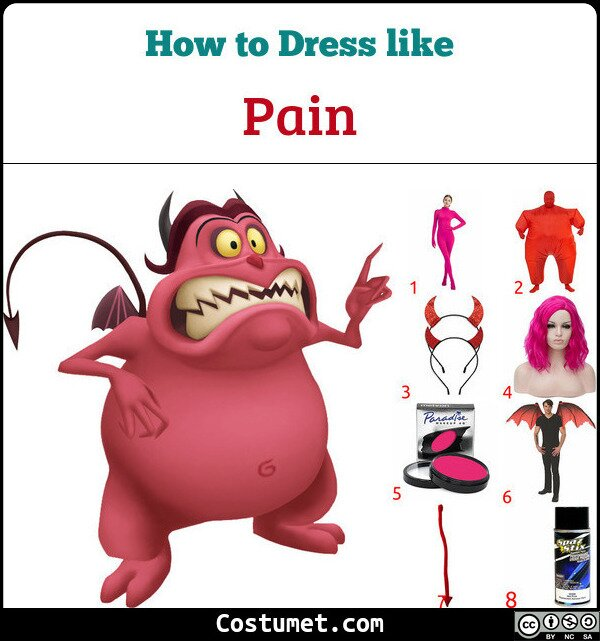 Pain Costume for Cosplay & Halloween