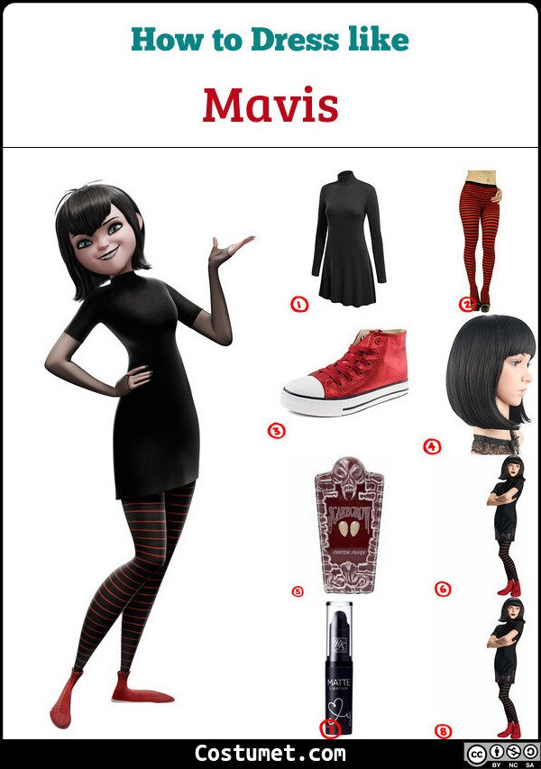 Mavis Costume for Cosplay & Halloween