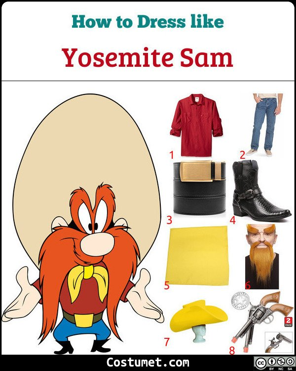 Yosemite Sam Costume for Cosplay & Halloween