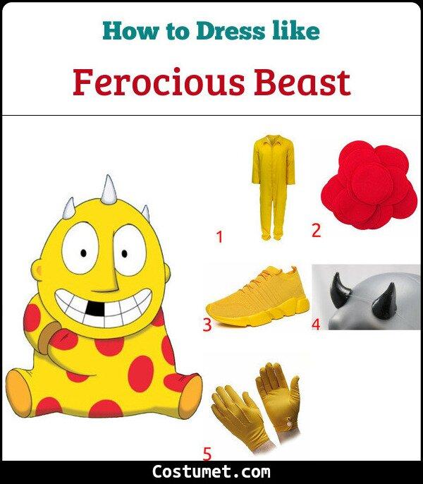 Ferocious Beast Costume for Cosplay & Halloween