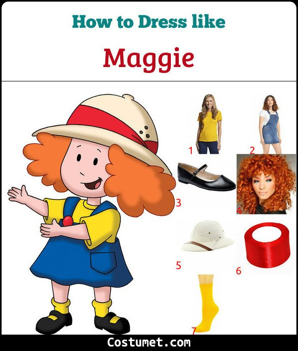 Maggie Costume for Cosplay & Halloween