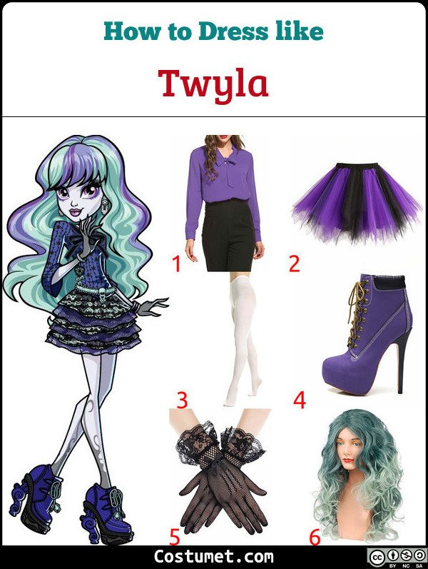 Twyla Costume for Cosplay & Halloween