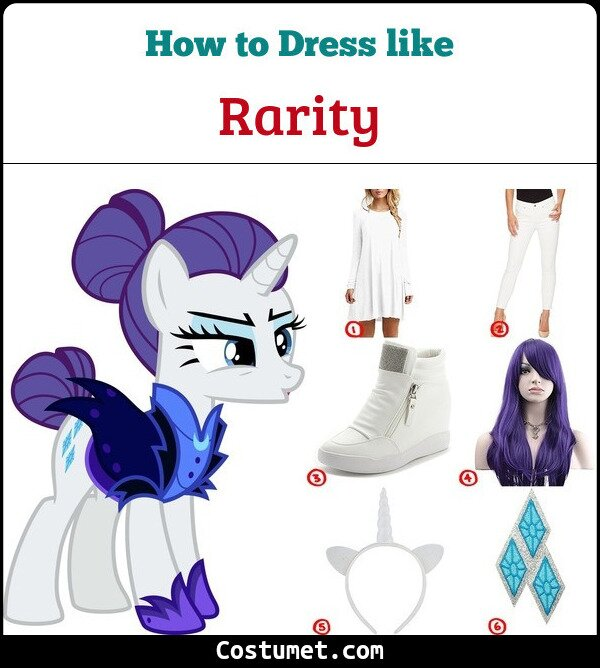 Rarity Cosplay & Costume Guide