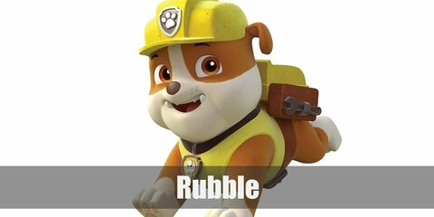 Rubble (Paw Patrol) Costume