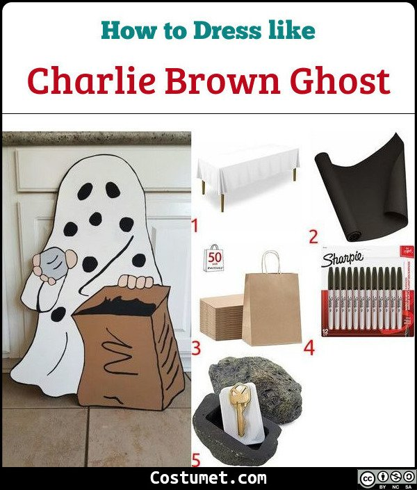 Ghost Costume for Cosplay & Halloween