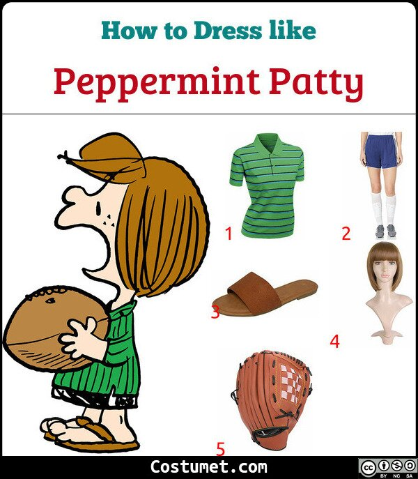 Peppermint Patty Costume for Cosplay & Halloween