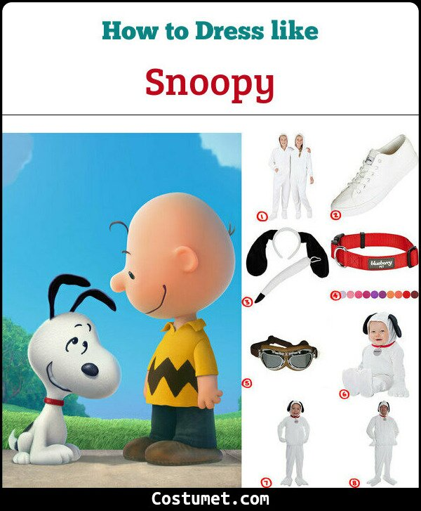 Snoopy Costume for Cosplay & Halloween