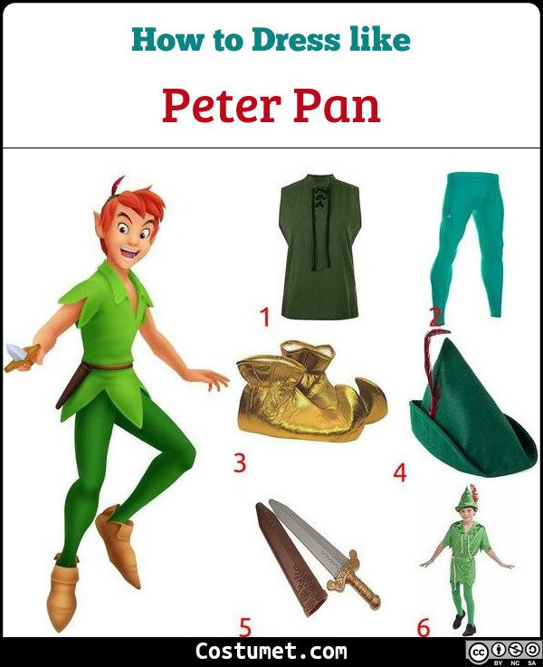 Peter Pan Costume for Cosplay & Halloween