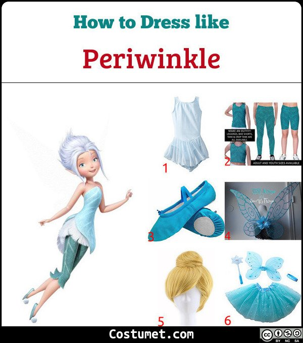 Periwinkle Costume for Cosplay & Halloween